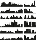Skylines Royalty Free Stock Photo