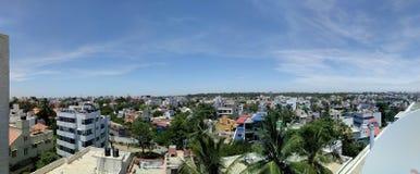 Skylines of Bengaluru Stock Images
