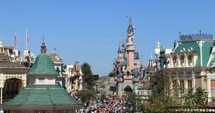 Skylines de Disneylâandia Foto de Stock