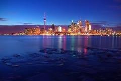 Skylines de Toronto Imagens de Stock Royalty Free
