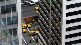 Skylines e negócio de New York City filme