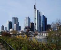Skylines. Frankfurt on Main. April 2015 Stock Photography