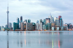 Skylline di Toronto Fotografia Stock Libera da Diritti