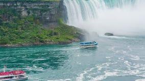 从Skylon塔的尼亚加拉瀑布视图 影视素材