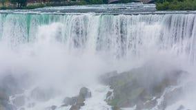 从Skylon塔的尼亚加拉瀑布视图 股票录像