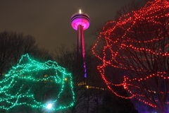 Skylon Illuminations Stock Photos