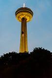Skylon Kontrollturm Niagara Falls Stockfotos