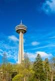 Skylon torn på Niagara Falls i Kanada Arkivfoton