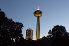 Free Skylon Tower And Fallsview Casino Royalty Free Stock Photography - 23893817