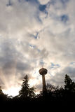 Skylon Tower in Niagra Falls Ontario Stock Photography
