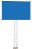 Skylt för tecken för information om riktning för körning för Motorwayvägföreningspunkt Fotografering för Bildbyråer