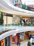 Skymall商城,基辅 免版税图库摄影