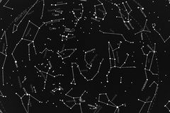 Skymap boreal Imagen de archivo