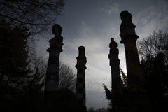 Skymning av gudarna - med stolthet som stiger in mot himlarna Arkivbilder
