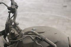Skymning av motorcykeln Royaltyfria Bilder