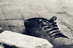Skymning av skor Fotografering för Bildbyråer