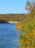 Skymt av den Assiniboine floden royaltyfri bild