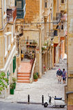 Skymt av Lascaris (La Valletta, Malta) Royaltyfri Foto