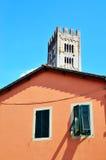 Skymt i Lucca royaltyfri fotografi