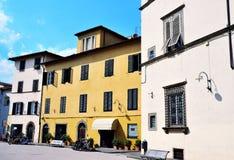 Skymt i Lucca arkivbild