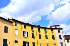 Skymt i Lucca arkivfoto