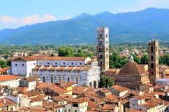 Skymt i Lucca royaltyfri foto