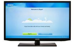 Skype Foto de Stock