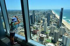 SkyPoint Observation Deck Stock Images