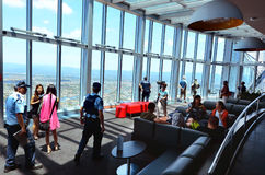 SkyPoint Observation Deck Royalty Free Stock Photo