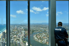 SkyPoint Observation Deck Royalty Free Stock Images