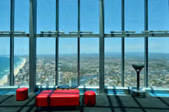 SkyPoint Observation Deck Royalty Free Stock Photos