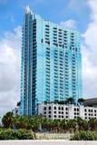 Skypoint torn i stadens centrum Tampa Arkivfoto