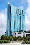 Skypoint Tower Downtown Tampa Stock Photo