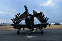 A-1 Skyraider stockbilder