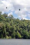 Skyrail i Barron Gorge National Park royaltyfria bilder