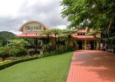 Skyrail Kuranda Queensland Australien royaltyfria bilder