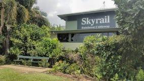 Skyrail rösen Queensland Australien royaltyfria bilder
