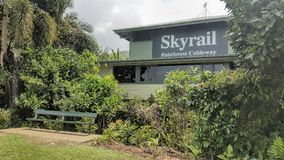 Skyrail rösen Queensland Australien royaltyfri foto