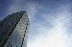 Skyraising Kontrollturm Lizenzfreie Stockbilder