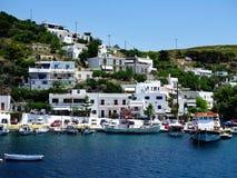 Skyros, aldeia piscatória grega da ilha Fotos de Stock