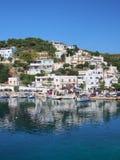 Skyros, aldeia piscatória grega da ilha Imagens de Stock