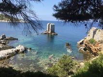 Skyros grekö Arkivbild