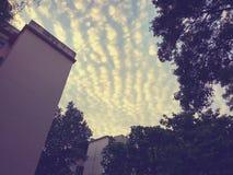 Skys предел стоковые изображения rf