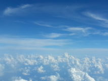 Skys oben Stockfoto