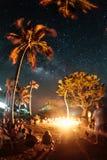 Skys van Isla Fuerte Stock Foto