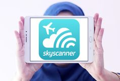Skyscanner Logo Stock Photos