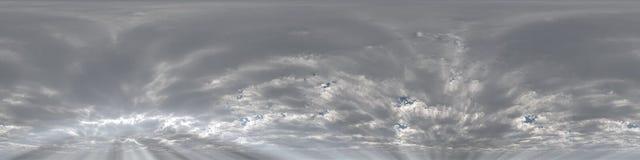 skyscape панорамы 360 градусов Стоковые Изображения