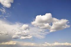 Skyscape agradável Foto de Stock Royalty Free