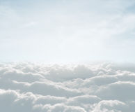 Skyscape with clouds. High definition skyscape with clouds Stock Photography
