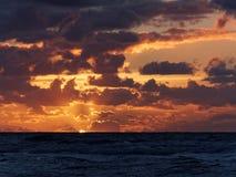 Skyscape em Ynyslas Imagens de Stock